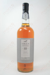 Oban 18 Year Old Whiskey 750ml