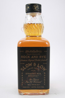 Hochstadter's Slow & Low Rock And Rye Straight Rye Whisky 750ml