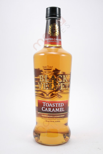 Black Velvet Toasted Caramel Whiskey 750ml - MoreWines