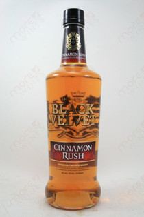 Black Velvet Cinnamon Rush Whiskey 750ml