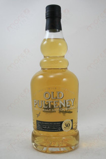 Old Pulteney 30 Year Old Whiskey 750ml