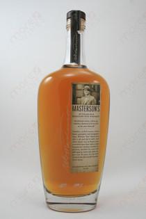 Masterson's 10 Year Old Rye Whiskey 750ml