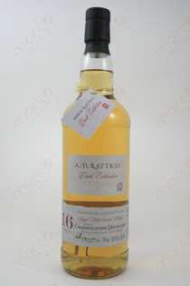 A.D. Rattray 16 Year Old Whiskey 750ml