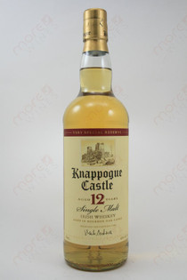 Knappogue Castle 12 year Old Whiskey 750ml
