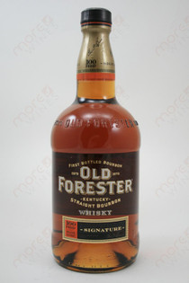 Old Forester Signature 100 Proof Whiskey 750ml
