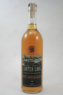 Crater Lake Rye Whiskey 750ml
