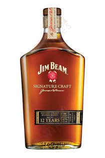 Jim Beam Signature Craft 12 Year Small Batch Bourbon Whiskey 750ml