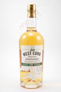 West Cork 10 Year Single Malt Irish Whiskey 750ml