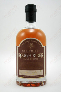 Rough Rider Straight Bourbon Rye Whiskey 750ml
