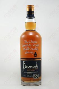 Benromach Speyside Single Malt Scotch Whiskey 10 year old 750ml