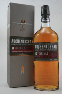 Auchentoshan Single Malt Scotch Whisky 12 Year Old 750ml
