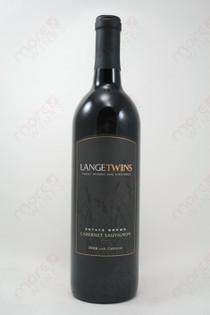 Lange Twins Cabernet Sauvignon 2009 750ml