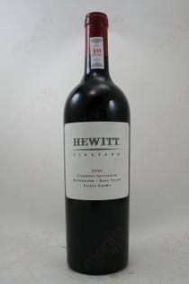 Hewitt Cabernet Sauvignon 2010 750ml