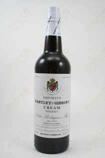 Hartley & Gibson's Cream Sherry 750ml
