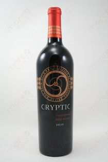 Cryptic California Red Wine 2010 750ml
