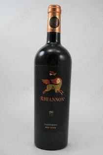 Rhiannon Red Wine 2012 750ml