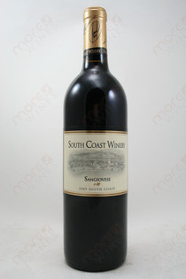 South Coast Winery Sangiovese 2009 750ml