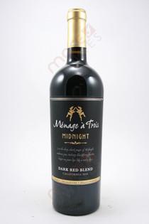 Menage a Trois Midnight Dark Red Blend 750ml