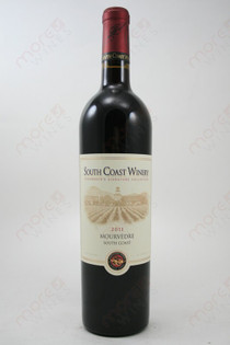 South Coast Winery Mourvedre 2011 750ml
