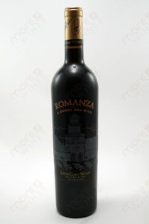 South Coast Winery Romanza Sweet Red Wine 750ml