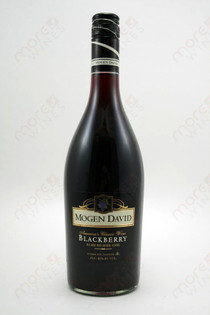 Mogen David Blackberry Wine 750ml