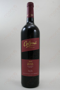 Colome Malbec 2011 750ml