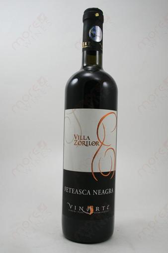 Villa Zorilor Feteasca Neagra Dry Red Wine 750ml