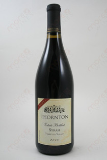 Thornton Estate Syrah 2010 750ml