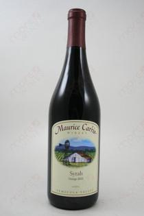 Maurice Carrie Syrah 2012 750ml