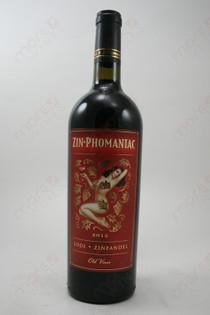 Zin-Phomaniac Lodi Zinfandel 2012 750ml