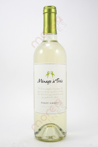 Menage a Trois Pinot Grigio 750ml