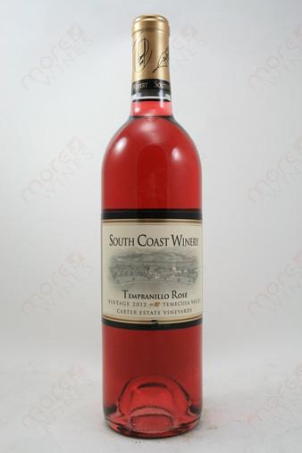 South Coast Winery Tempranillo Rose 2012 750ml