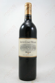South Coast Winery Merlot 2012 750ml