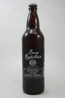 Brew Rebellion Churchill Cherry Honey Wheat 22fl oz