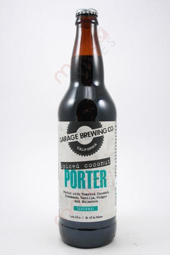 Garage Brewing Co. Spiced Coconut Porter 22fl oz