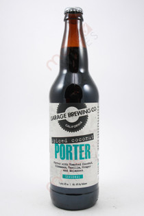 Garage Brewing Co. Spiced Coconut Porter 22fl oz