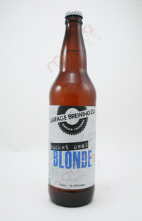 Garage Brewing Co 'Bucket Seat' Blonde 22fl oz