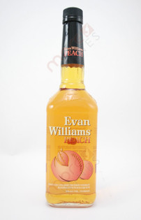 Evan Williams Peach Bourbon Whiskey 750ml