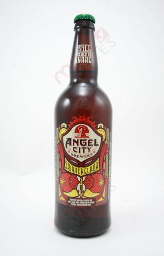 Angel City Brewery Srirachelada Spicy Beer 22fl oz