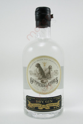 Bummer & Lazarus Small Batch Dry Gin 750ml