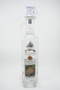 El Tequileno Platino Blanco Tequila 750ml