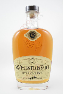 WhistlePig Farm 10 Year Old Straight Rye Whiskey 750ml