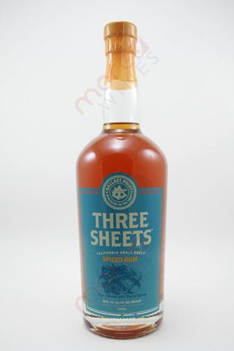 Ballast Point Three Sheets Spiced Rum 750ml