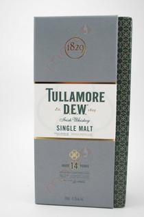 Tullamore Dew 14 Year Old Single Malt Irish Whiskey 750ml box