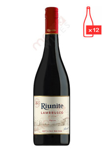 Riunite Lambrusco 750ml (Case of 12) FREE SHIPPING $8.99/Bottle (104945-FS12