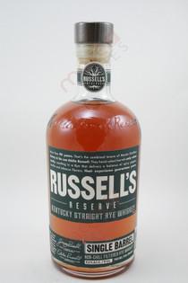 Wild Turkey Russell's Reserve Single Barrel Kentucky Straight Rye Whiskey 750ml