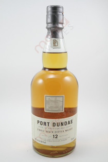 Port Dundas 12 Year Old Single Grain Scotch Whisky 750ml