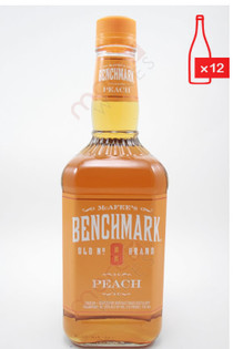 Benchmark Peach Liqueur 750ml (Case of 12) FREE SHIPPING $10.99/Bottle