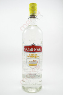 Sobieski Lemon Meringue Flavored Vodka 750ml