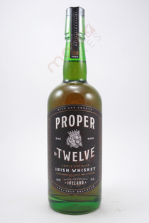 Proper Twelve Irish Whiskey 750ml